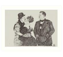 'Sweet Kisses for Stan' Art Print