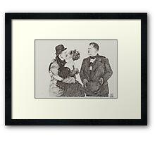 'Sweet Kisses for Stan' Framed Print