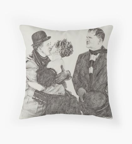 'Sweet Kisses for Stan' Throw Pillow