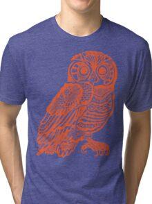 owll_out Tri-blend T-Shirt