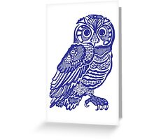owll_lsy Greeting Card