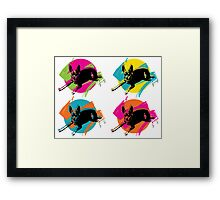 PINKY Pop Art  Framed Print