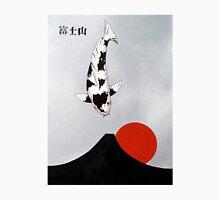 Mt Fuji Wave Sun Rise Utsuri Mono painting T-Shirt