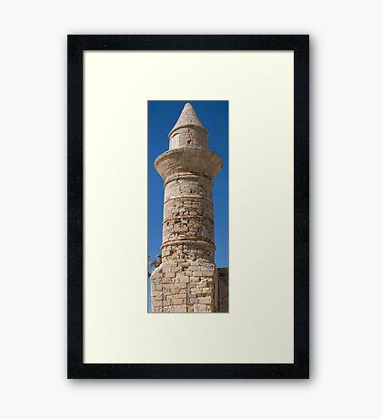 Cesarea Minaret Framed Print