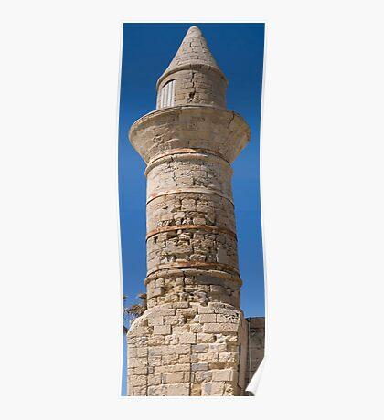 Cesarea Minaret Poster
