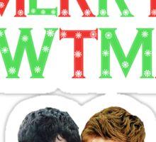 Merry Newtmas - The Maze Runner Sticker