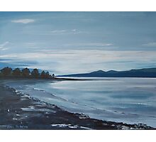 River Forth Evening Glow Photographic Print