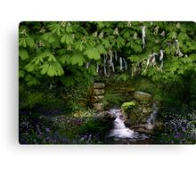 Cornish Holy Well Canvas Print