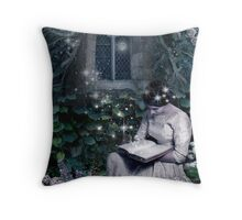 Lost in the Garden Throw Pillow