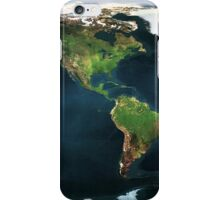 Earth Map iPhone Case/Skin