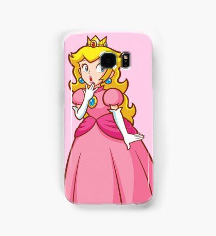 Princess Peach! - Surprised Samsung Galaxy Case/Skin