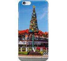 Christmas in Cleveland Qld Austalia iPhone Case/Skin