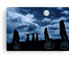 Moondancing Canvas Print