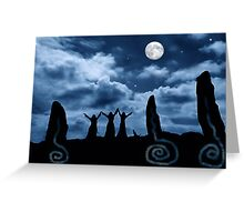 Moondancing Greeting Card