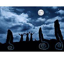 Moondancing Photographic Print