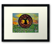 Rebelution Tree of Life 'Bright Side of Life' Beautiful Artwork Framed Print