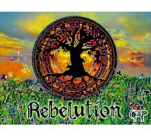 Rebelution Tree of Life 'Bright Side of Life' Beautiful Artwork Photographic Print