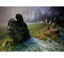 the Rollright Stones Photographic Print