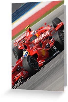 Scuderia Ferrari Marlboro Felipe Massa Brazil F1 Sepang Malaysia by afby