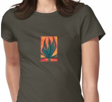 Garden Series: Agave Womens Fitted T-Shirt