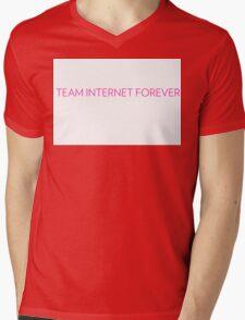 Team Internet Forever! Mens V-Neck T-Shirt