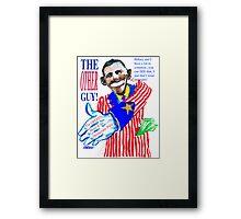 Obama, the Other Guy Framed Print