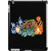 Pokemon Gen I Starters iPad Case/Skin