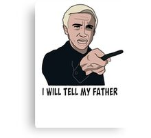 I will tell my father Canvas Print