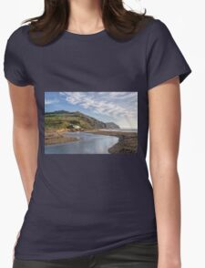 Charmouth - Dorset  Womens Fitted T-Shirt
