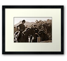 Young Guns Framed Print