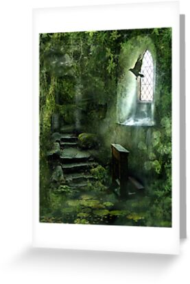 The Chapel in the Woods by Angie Latham