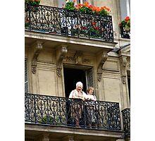Observation parisienne de femmes Photographic Print