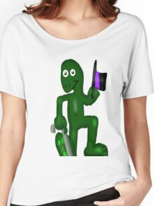Dancing Frog Women's Relaxed Fit T-Shirt