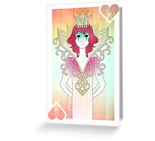 Anthrocemorphia - King of Hearts Greeting Card