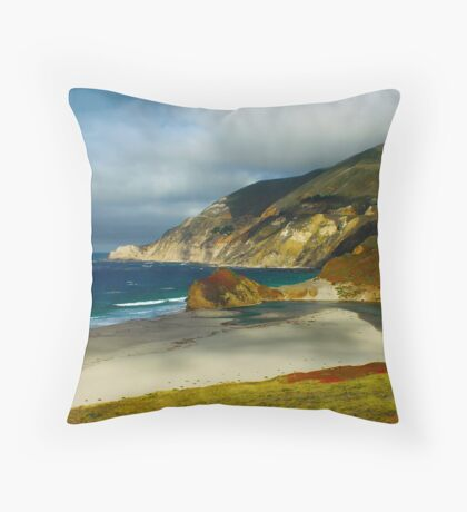 To Shining Sea  Throw Pillow