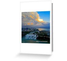 Niagara Falls - American Falls Dusk Greeting Card