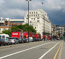 Waterloo Bridge, London by Sergey Galagan