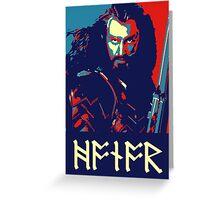 Thorin Oeakenshield - Honor Greeting Card