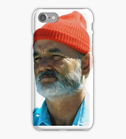 Steve Zissou - Bill Murray  iPhone Case/Skin
