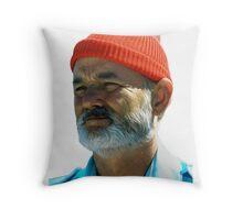 Steve Zissou - Bill Murray  Throw Pillow