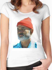 Steve Zissou - Bill Murray  Women's Fitted Scoop T-Shirt
