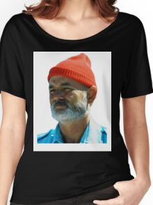 Steve Zissou - Bill Murray  Women's Relaxed Fit T-Shirt