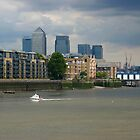 London, Thames by Sergey Galagan