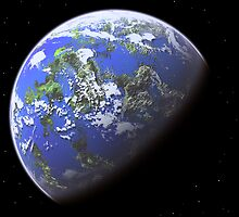 Blue Planet by Shannon Beauford