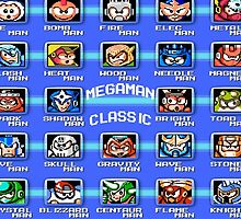 Classic Megaman Bosses  by Metboi