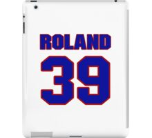 National baseball player Jim Roland jersey 39 iPad Case/Skin