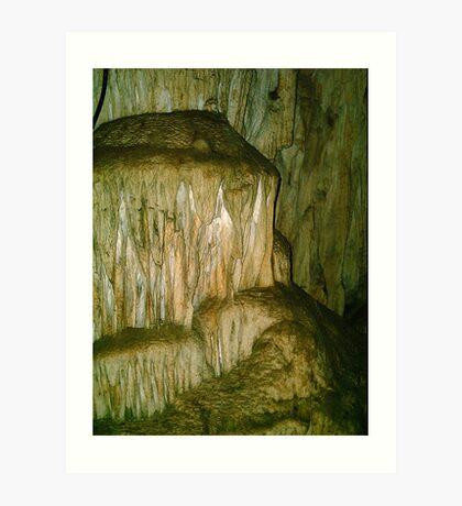 Grutas De La Estrella - Cave Formation  2 Art Print