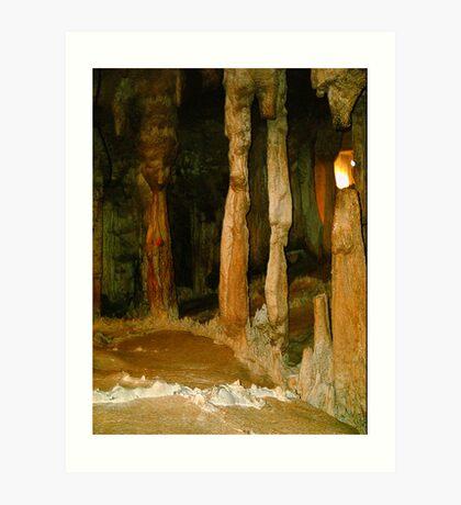 Grutas De La Estrella - Cave Formation 3 Art Print