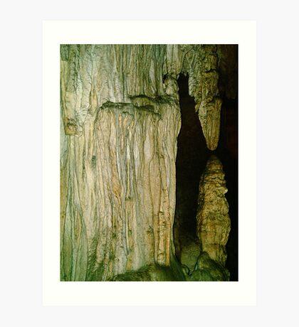 Grutas De La Estrella - Cave Formation  4 Art Print