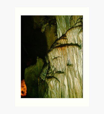 Grutas De La Estrella - Cave Formation 5 Art Print